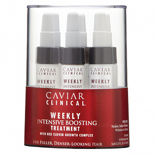 Alterna Caviar Clinical Weekly Intensive Boosting Treatment Уход-активатор для роста волос
