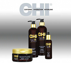 CHI Argan Oil - косметика для волос c маслом арганы